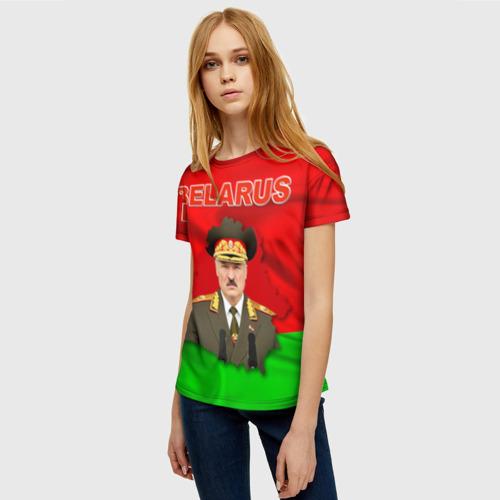 Женская футболка 3D Belarus 17 Фото 01