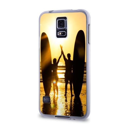 Чехол для Samsung Galaxy S5 силиконовый  Фото 03, Сёрфинг