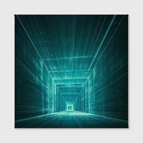 Холст квадратный  Фото 02, Цифровой тоннель