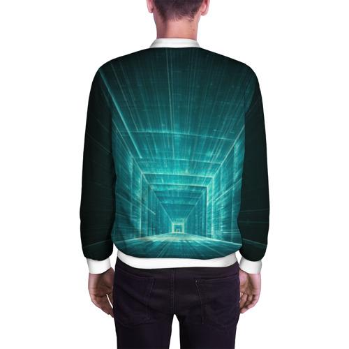 Мужской бомбер 3D  Фото 04, Цифровой тоннель