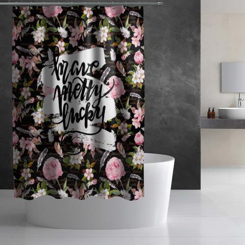 Штора 3D для ванной Pretty Фото 01