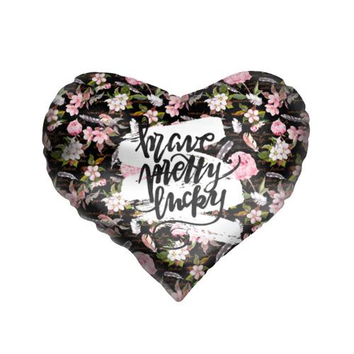 Подушка 3D сердце  Фото 01, Pretty