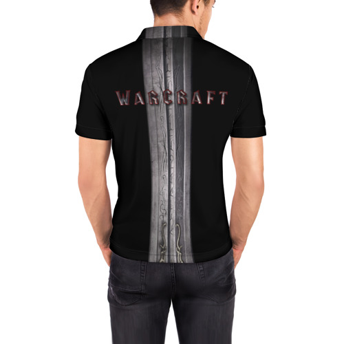 Мужская рубашка поло 3D Warcraft (кино) Фото 01