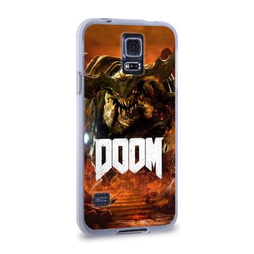 Чехол для Samsung Galaxy S5 силиконовый  Фото 02, Doom 4 Hell Cyberdemon