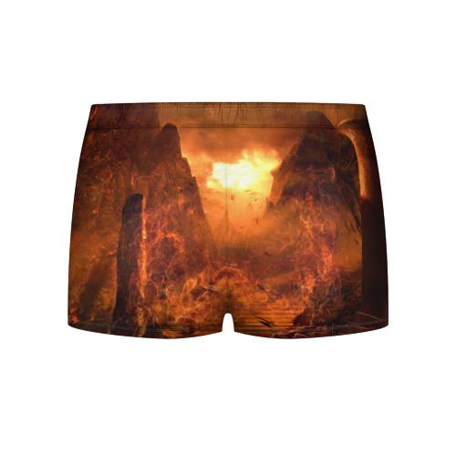 Мужские трусы 3D  Фото 02, Doom 4 Hell Cyberdemon