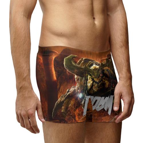 Мужские трусы 3D  Фото 03, Doom 4 Hell Cyberdemon