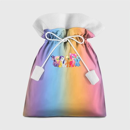 Подарочный 3D мешок My little pony 1