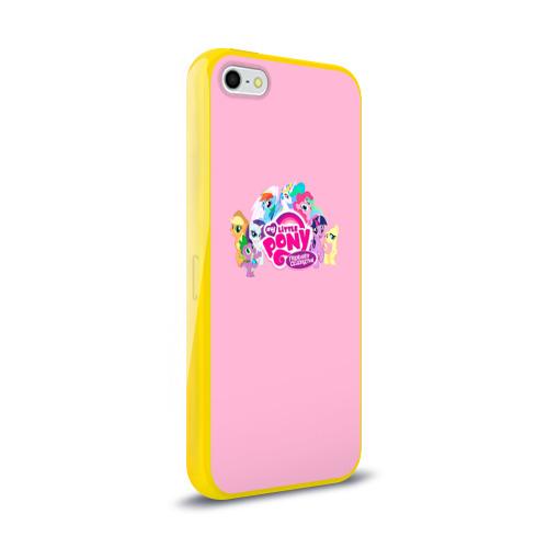 Чехол для Apple iPhone 5/5S силиконовый глянцевый My little pony 2 Фото 01