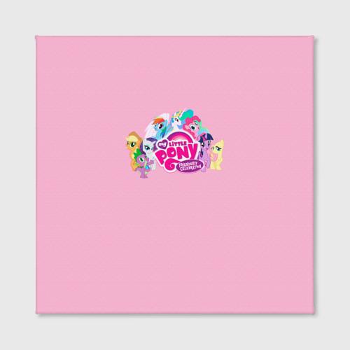 Холст квадратный  Фото 02, My little pony 2