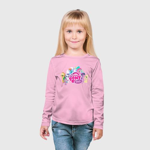 Детский лонгслив 3D My little pony 2 Фото 01