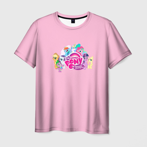 Мужская футболка 3D My little pony 2