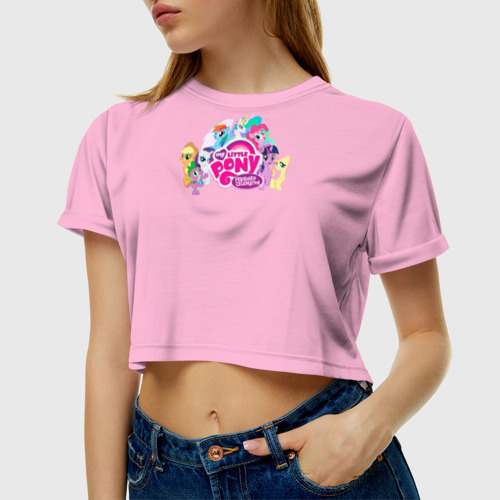 Женская футболка Cropp-top My little pony 2 Фото 01
