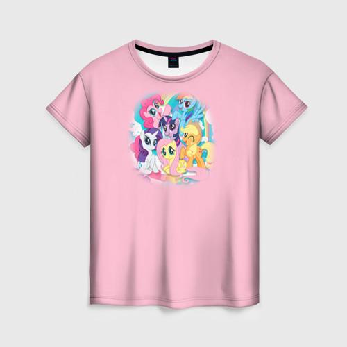 Женская футболка 3D My little pony 3 Фото 01