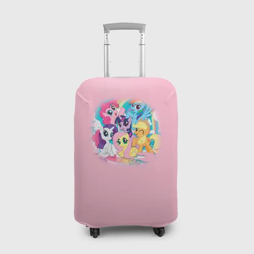 Чехол для чемодана 3D My little pony 3 Фото 01