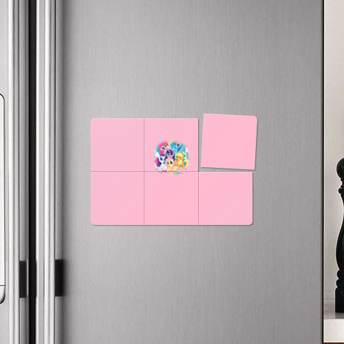 Магнитный плакат 3Х2 My little pony 3 Фото 01