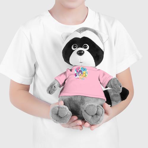 Енотик в футболке 3D My little pony 3 Фото 01