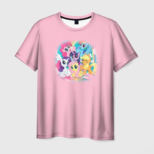 Мужская футболка 3D My little pony 3