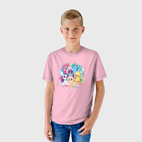 Детская футболка 3D My little pony 3