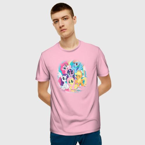 Мужская футболка 3D My little pony 3 Фото 01