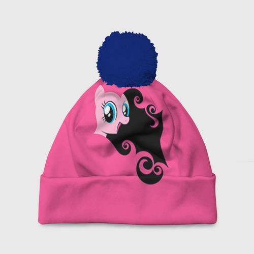 Шапка 3D c помпоном Me little pony 4