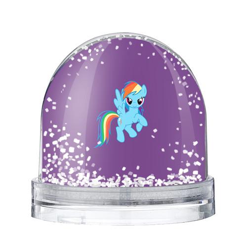 Водяной шар со снегом Me little pony 5
