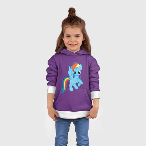 Детская толстовка 3D Me little pony 5