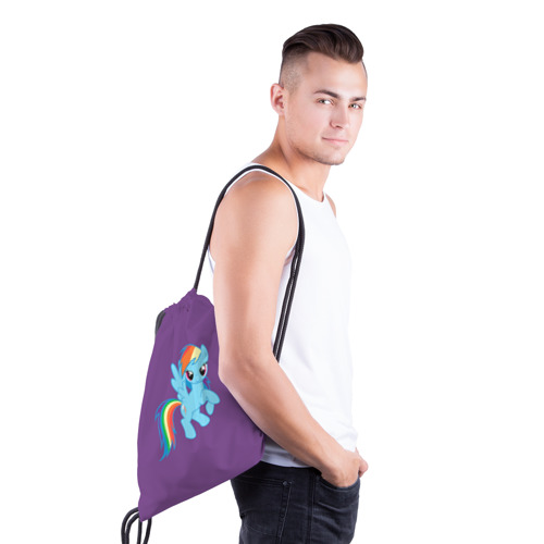 Рюкзак-мешок 3D  Фото 03, Me little pony 5