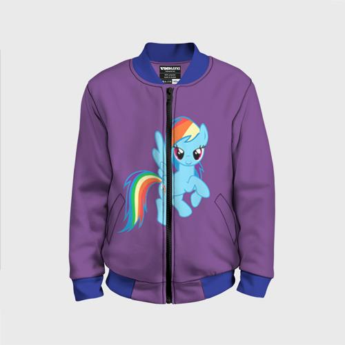 Детский бомбер 3D Me little pony 5