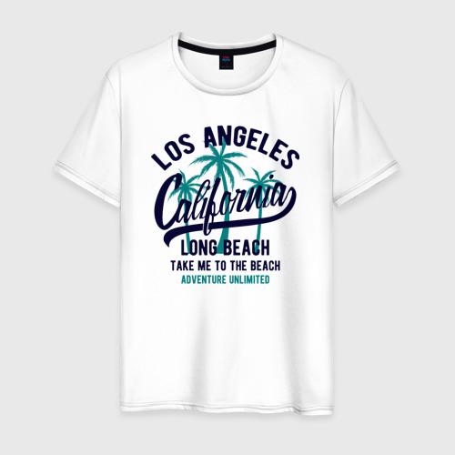 Мужская футболка хлопок California Фото 01