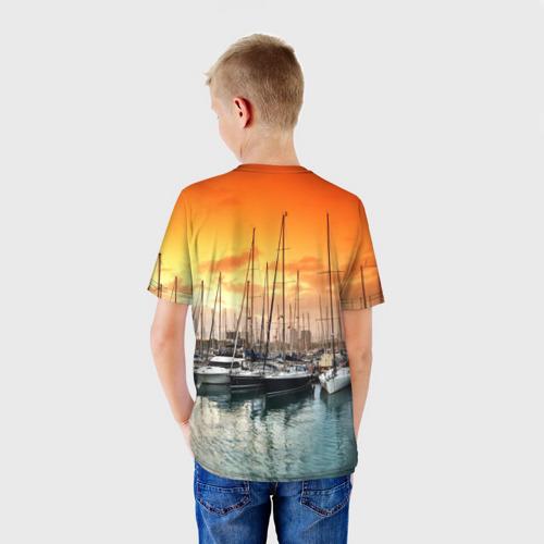 Детская футболка 3D  Фото 02, Barcelona