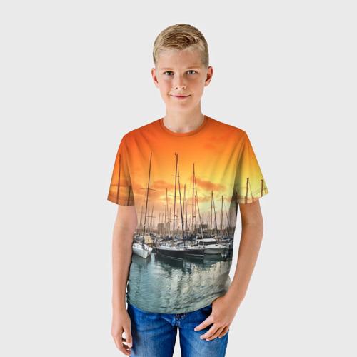 Детская футболка 3D  Фото 01, Barcelona