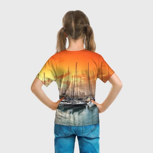 Детская футболка 3D  Фото 04, Barcelona