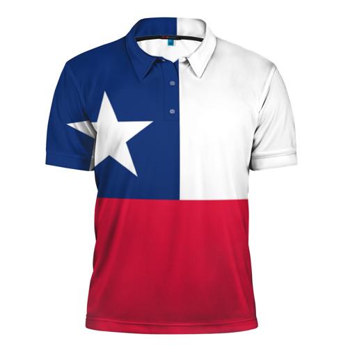 Мужская рубашка поло 3D Чили