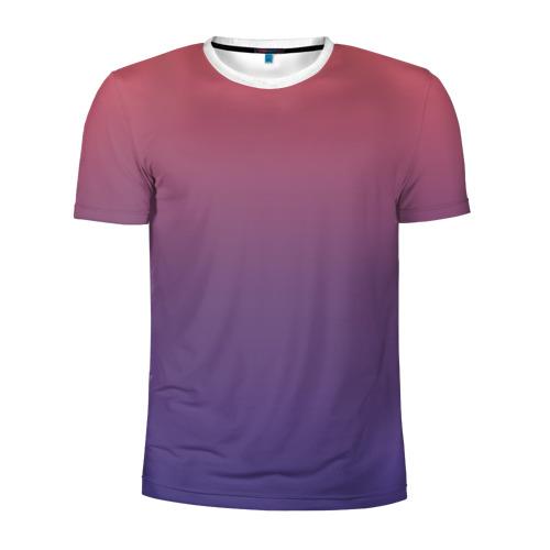 Мужская футболка 3D спортивная  Фото 01, Градиент 2