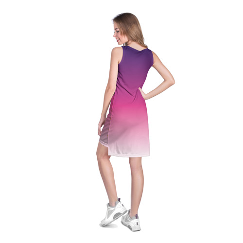 Платье-майка 3D  Фото 04, Градиент 6