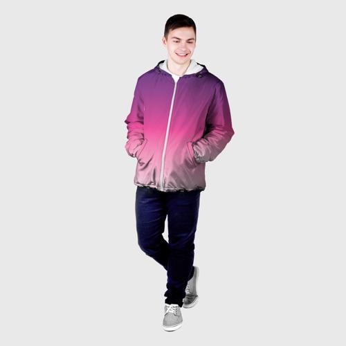 Мужская куртка 3D  Фото 03, Градиент 6