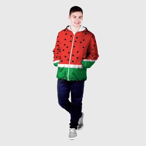 Мужская куртка 3D  Фото 03, Арбуз