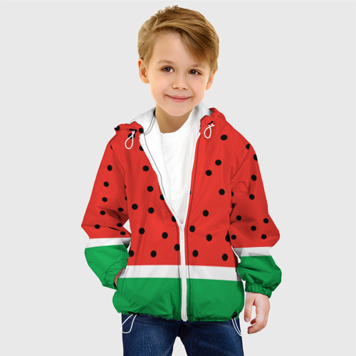 Детская куртка 3D  Фото 03, Арбуз