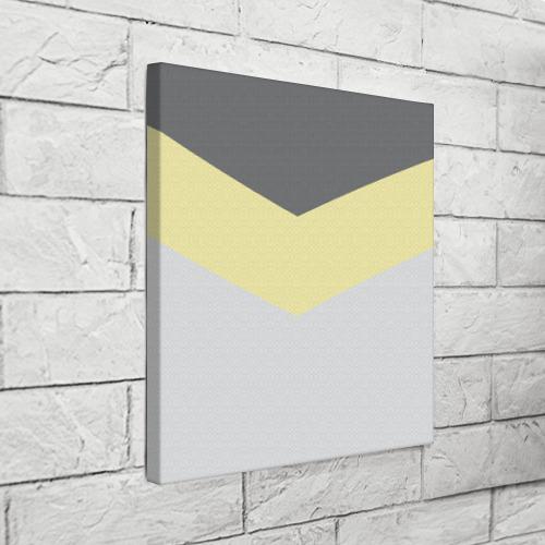 Холст квадратный  Фото 03, Полосы угол 2