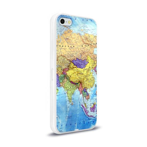 Чехол для Apple iPhone 5/5S силиконовый глянцевый  Фото 02, Карта 10