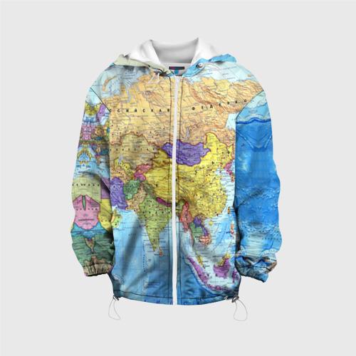 Детская куртка 3D Карта 10 152 фото
