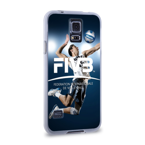 Чехол для Samsung Galaxy S5 силиконовый  Фото 02, Волейбол 4