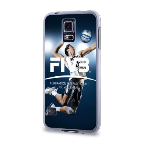 Чехол для Samsung Galaxy S5 силиконовый  Фото 03, Волейбол 4