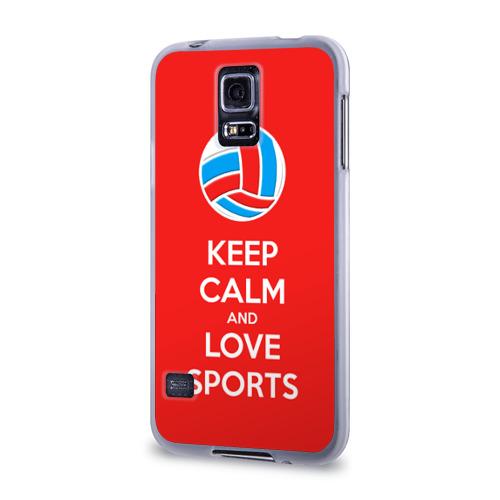 Чехол для Samsung Galaxy S5 силиконовый  Фото 03, Волейбол 5