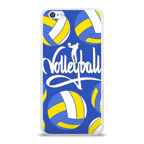 Чехол для Apple iPhone 6Plus/6SPlus силиконовый глянцевый Волейбол 6