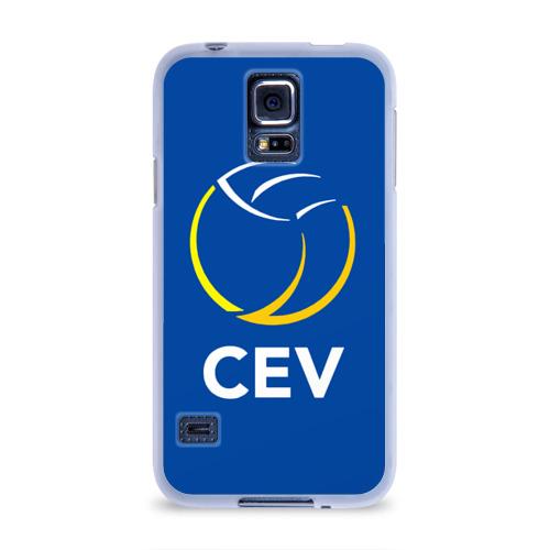 Чехол для Samsung Galaxy S5 силиконовый  Фото 01, Волейбол 19