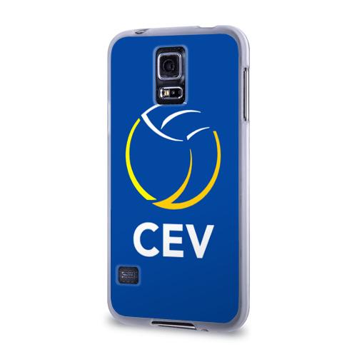 Чехол для Samsung Galaxy S5 силиконовый  Фото 03, Волейбол 19