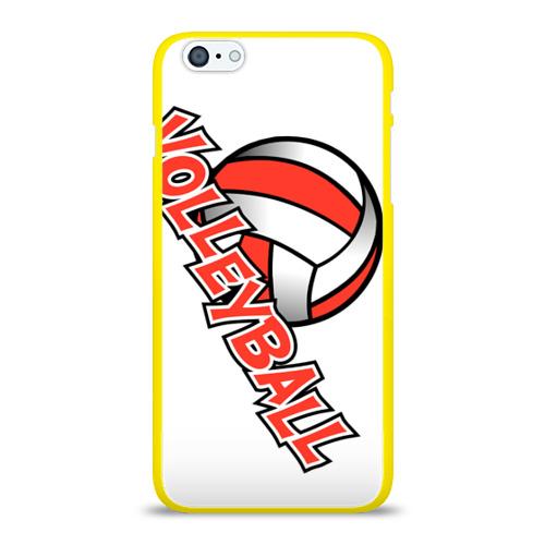 Чехол для Apple iPhone 6Plus/6SPlus силиконовый глянцевый  Фото 01, Волейбол 21