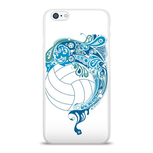 Чехол для Apple iPhone 6Plus/6SPlus силиконовый глянцевый  Фото 01, Волейбол 22