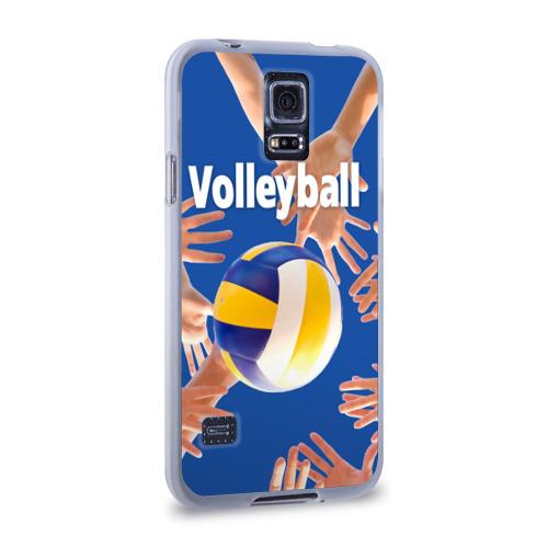 Чехол для Samsung Galaxy S5 силиконовый  Фото 02, Волейбол 24